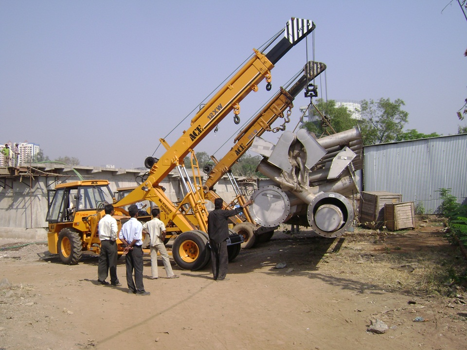 01.Mechanical Equipment Istallation for 120MLD STP
