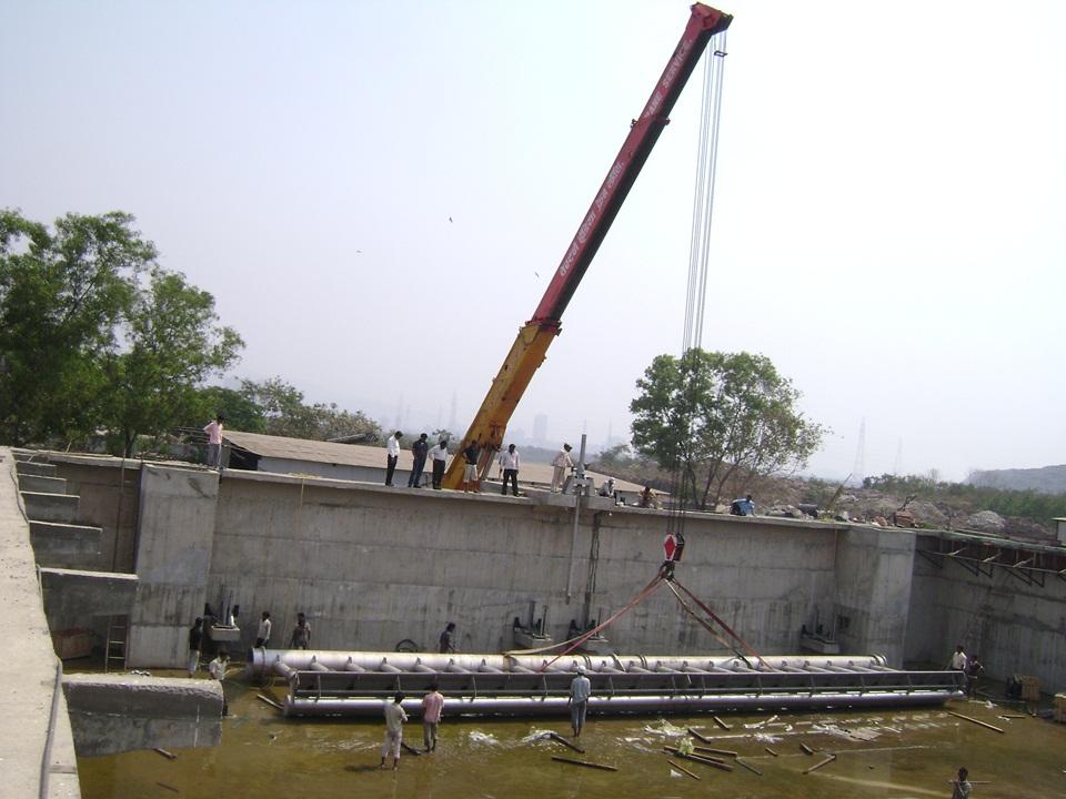 03.Mechanical Equipment Istallation for 120MLD STP...