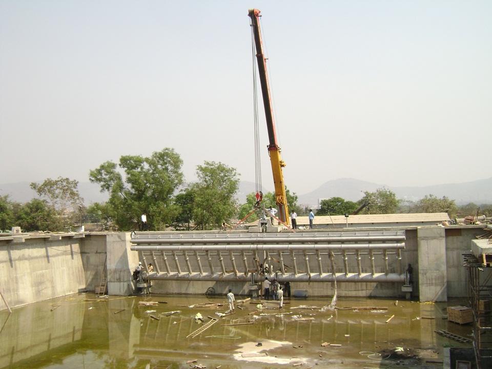 04.Mechanical Equipment Istallation for 120MLD STP....