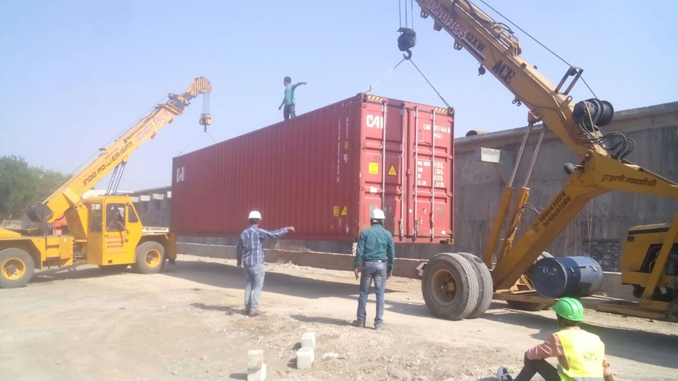 01.Mechanical Equipment Unloading at 161MLD STP