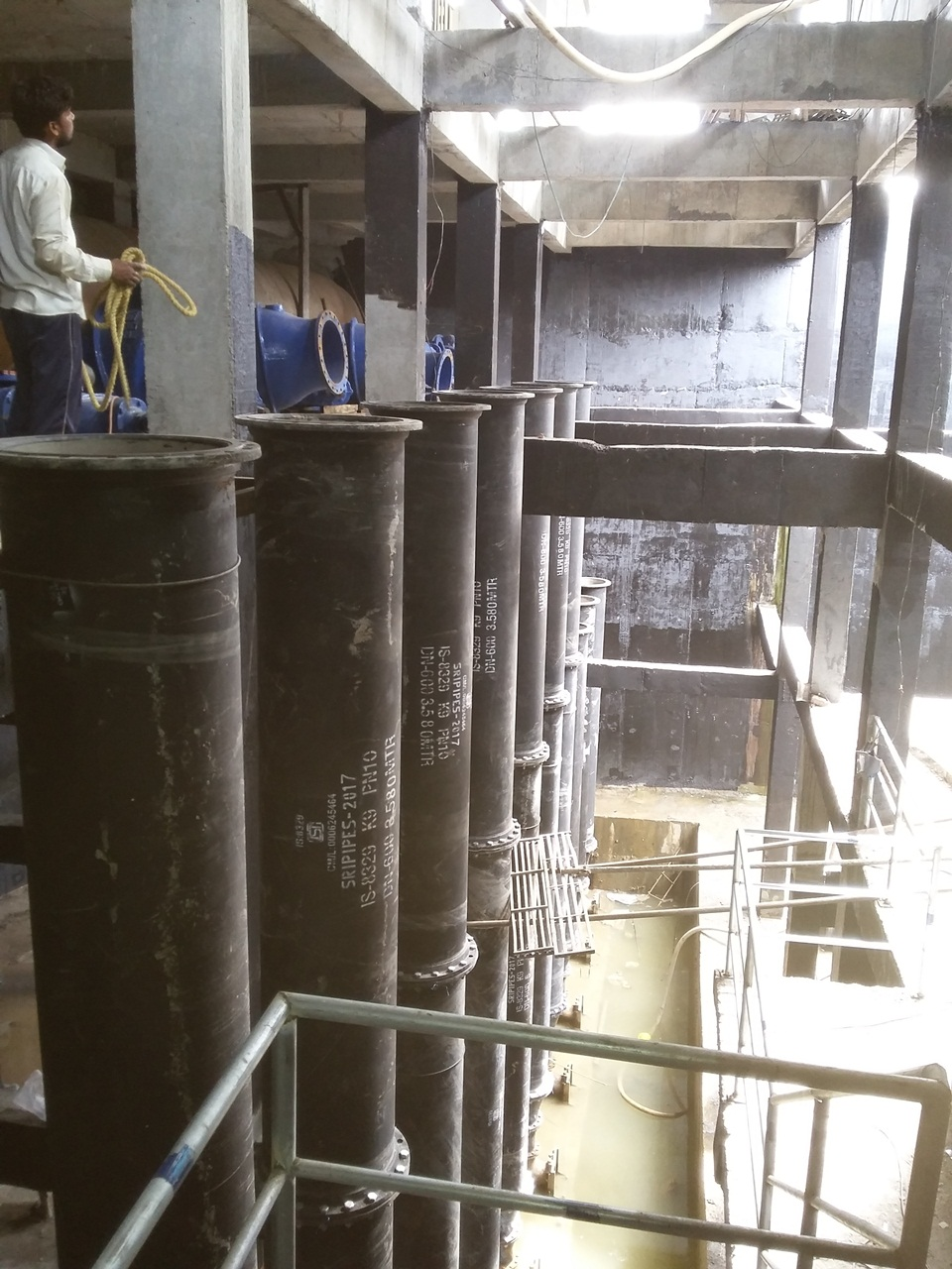 17.Internal Piping and Fittings Installation at 211MLD SPS
