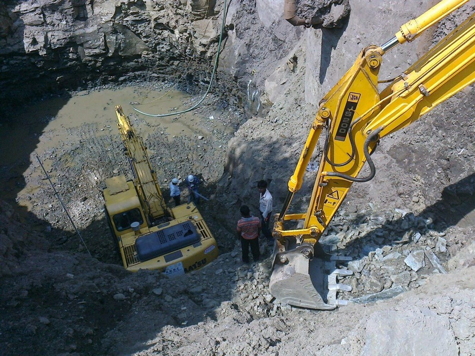 02. Excavation for Pumping Station-PS5 at Thane