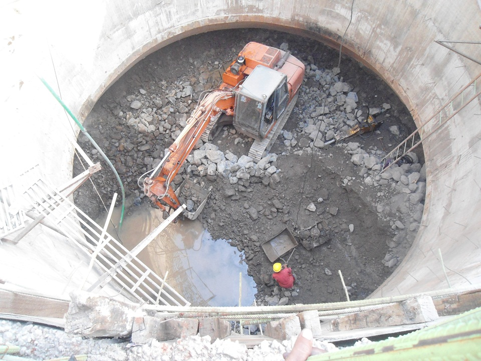05. Construction of Pumping Station-PS7 at Thane by Well Sinking